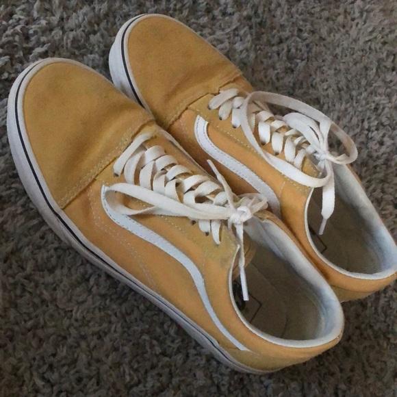 Mustard Yellow Old Skool Vans. M 5c58ae1645c8b39512c8b440 376f6b44e9